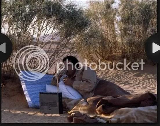 Gadhafi strategy in the desert