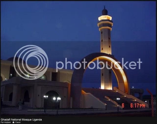 al-Qathafi Mosque in Kampala, Uganda