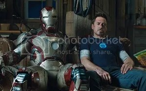 Iron Man 3 - Robert Downey Jr and the Mark 42