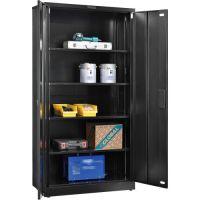 "Global Folding Steel Storage Cabinet 36""W x 18""D x 72""H ..."