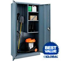 Janitorial Cabinets at GLOBALindustrial.com