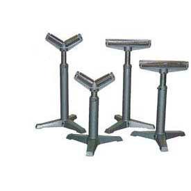 Vestil Portable Roller Stands with Manual Height Adjustment