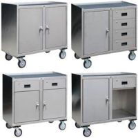 Trucks & Carts | Carts-Stainless Steel & Galvanized Shelf ...