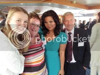 Niet alleen koninklijk bezoek was er op de boot!