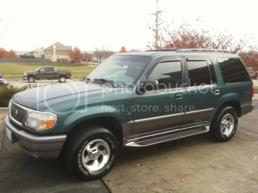 medium resolution of 1997 mercury mountaineer for sale in des moines ia
