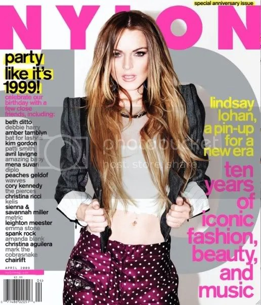 Lindsay Lohan on Nylon