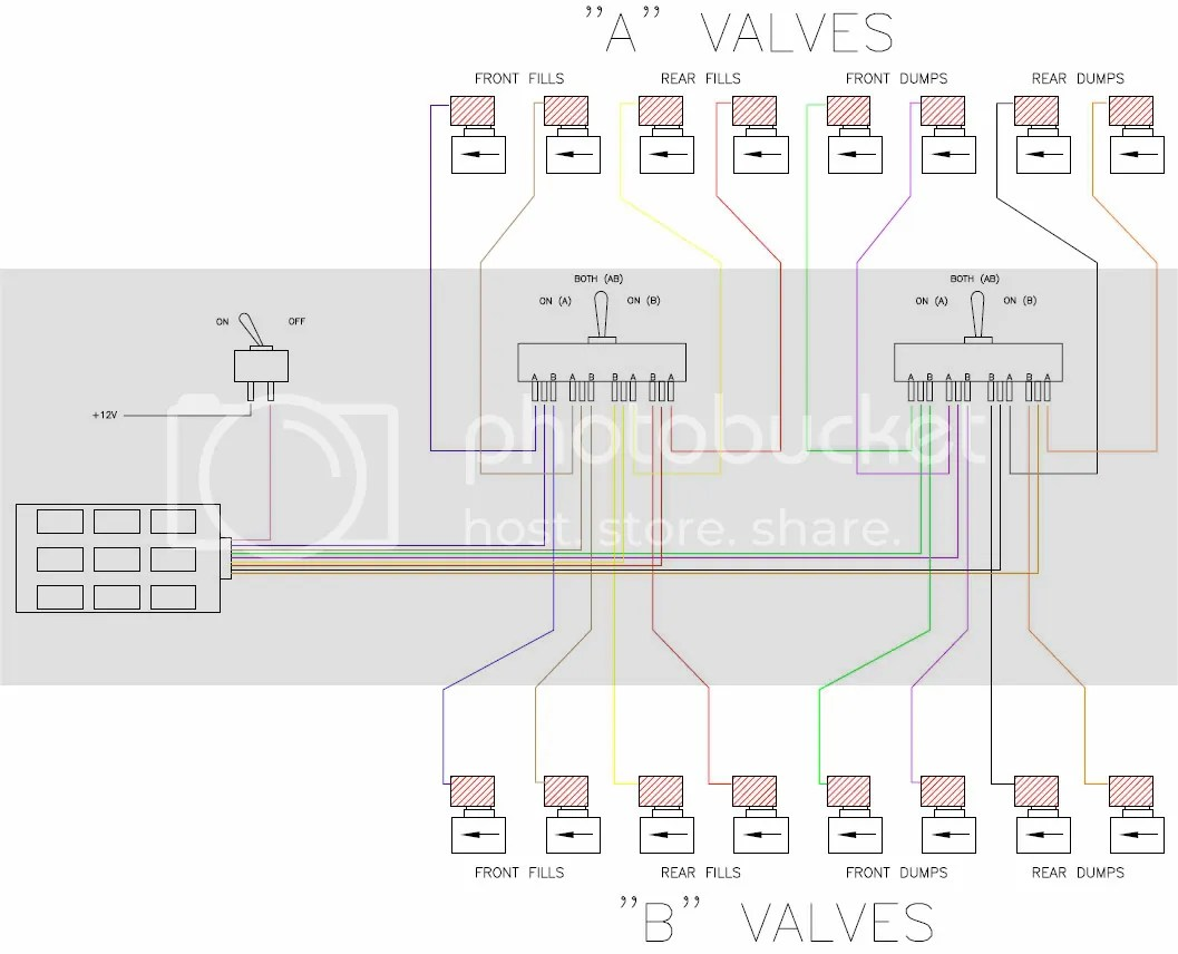 air ride wiring diagram alpine cda 9827 10 switch box get free image