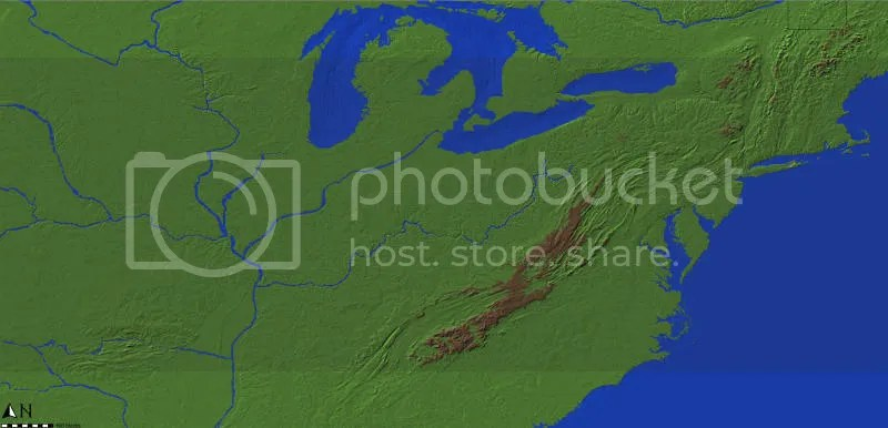 North America Desert Map
