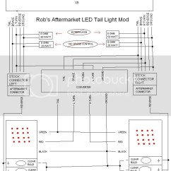 Harley Davidson Tail Light Wiring Diagram Car Horn Relay Aftermarket Led Mod (diy Sorta) - Scionlife.com