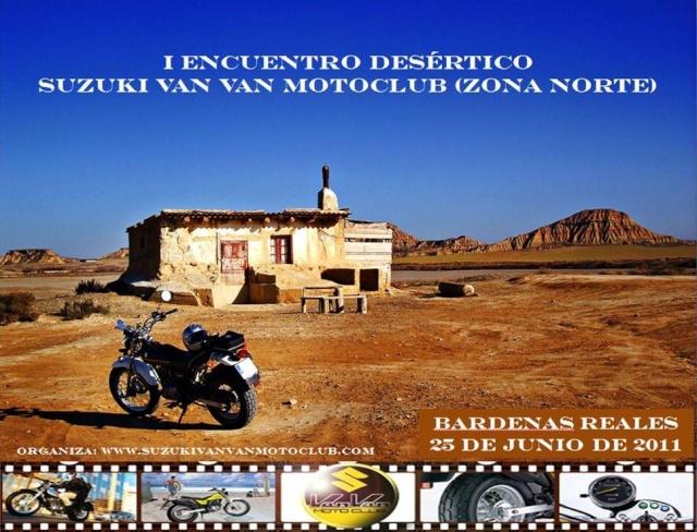 I Encuentro Desértico Suzuki Van Van Motoclub