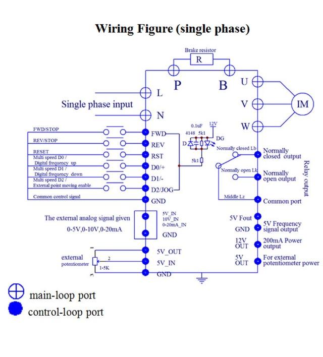 wiring diagram 3 phase motor bell door entry systems variateur de fréquence mono/tri pont élévateur ciseaux omer concorde i36 hydraulique   usinages