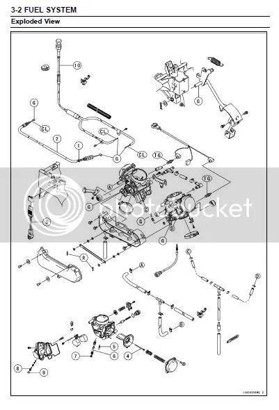 Sell 2008 kawasaki teryx 750 4x4 repair service manual CD