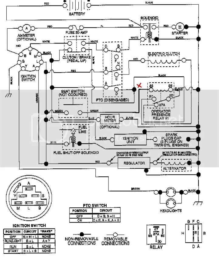 John Deere Stx 38 Wiring Diagram For, John, Free Engine