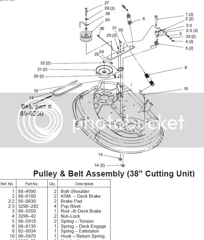 Toro Wheel Horse Mower Deck Manual