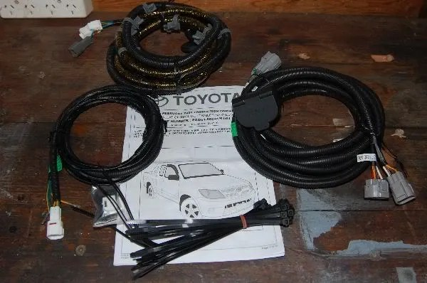 Toyota Tow Bar Wiring Diagram