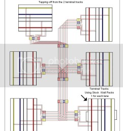this image has been resized click this bar to view the full image the track wiring  [ 847 x 1024 Pixel ]