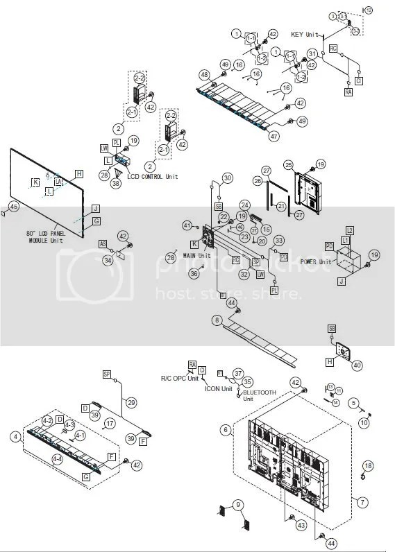 Sharp Aquos Plasma LCD LED 3D Smart TV service manual