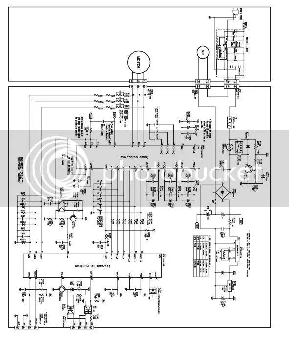 samsung fridge wiring schematic