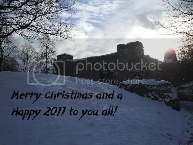 Colchester Castle in the snow