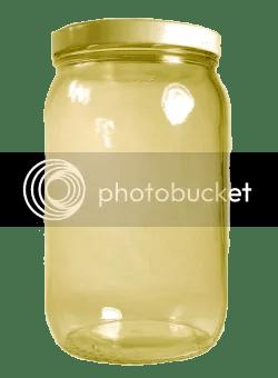 gold pickle jar