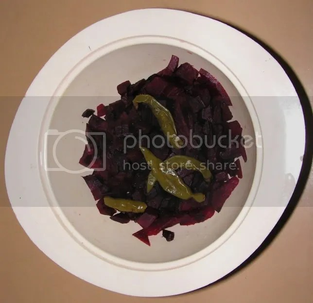 Ingredients of Beetroot Sassam