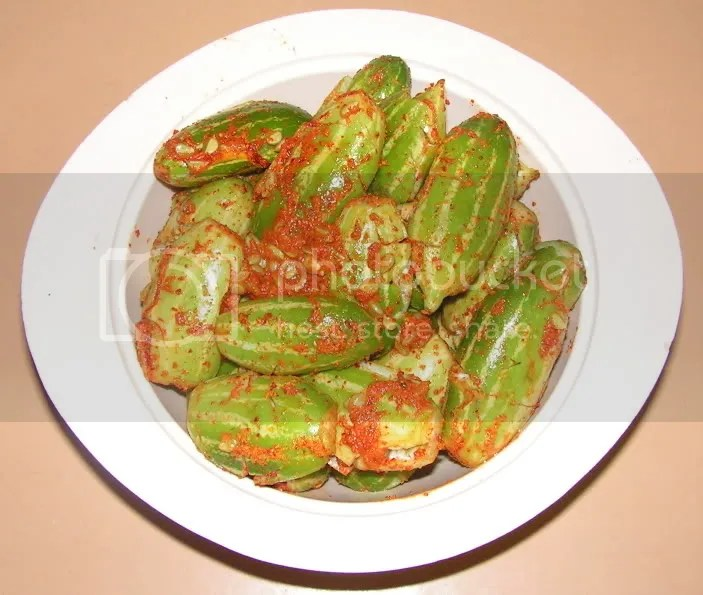 masala applied