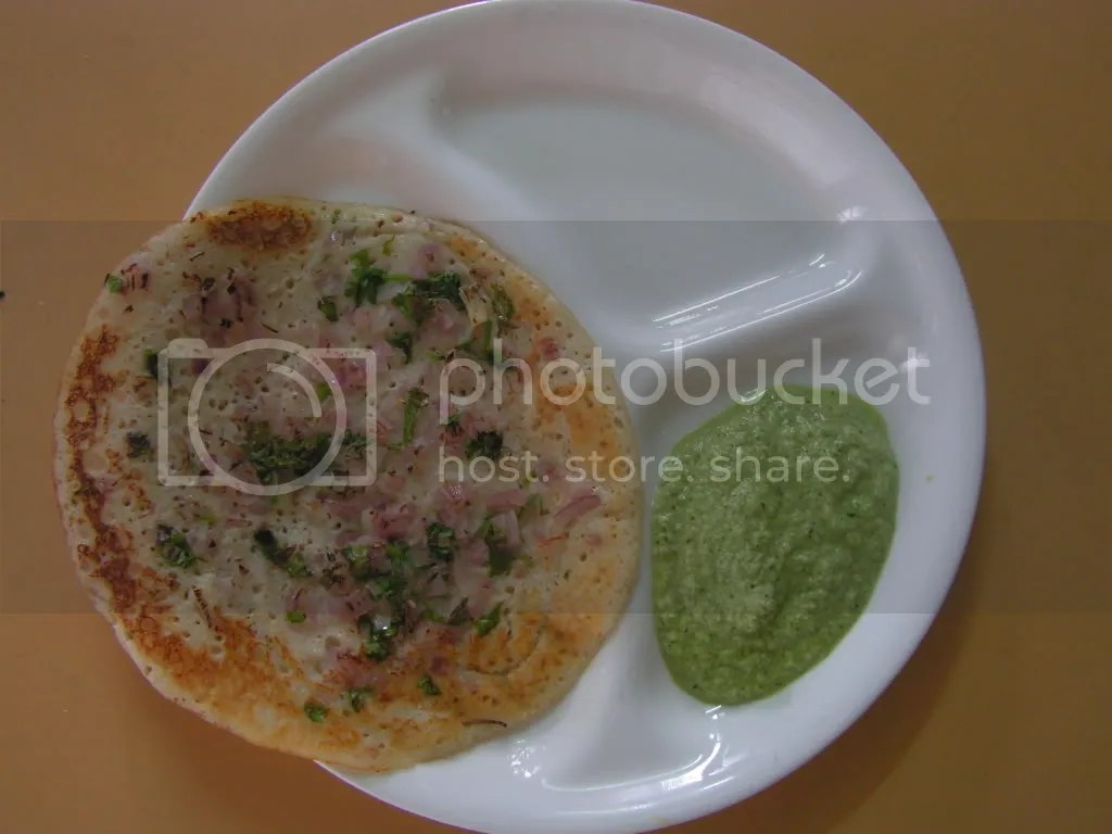 Ready to serve OOthappa/Onion dosa