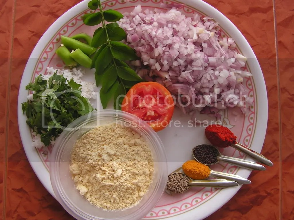 Ingredients of Jhunka