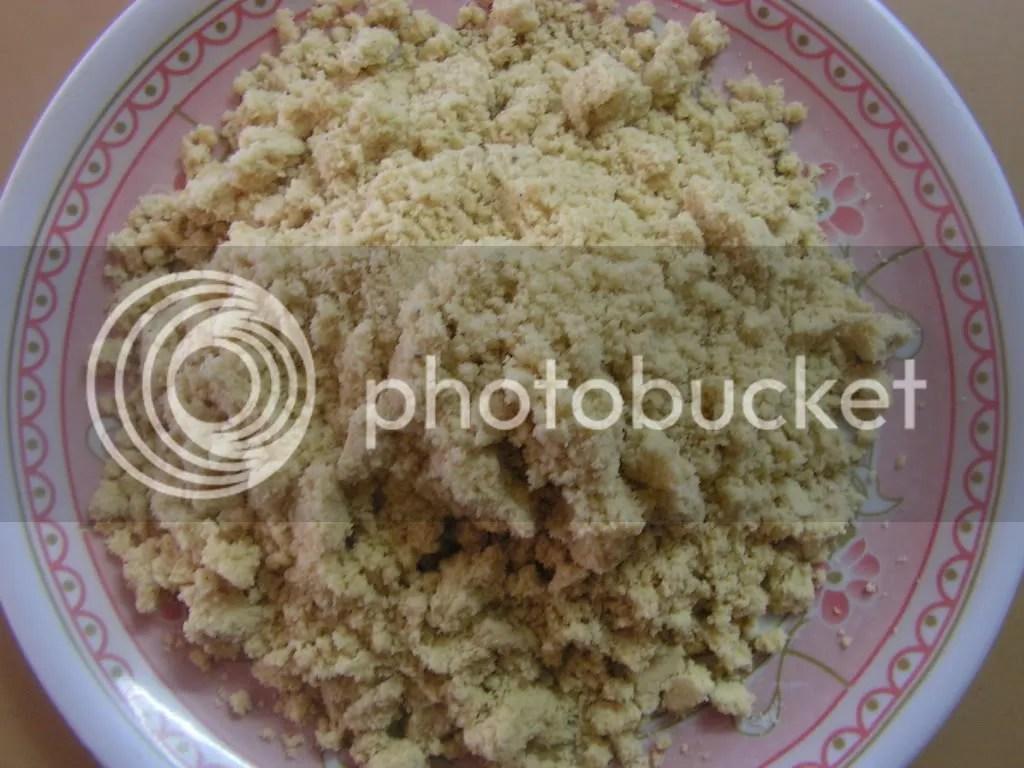 The laddu mixture
