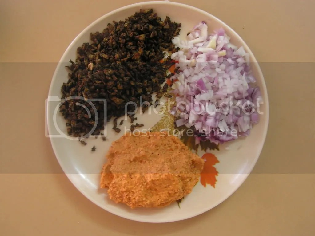 Ready to serve Fried guard with Masala