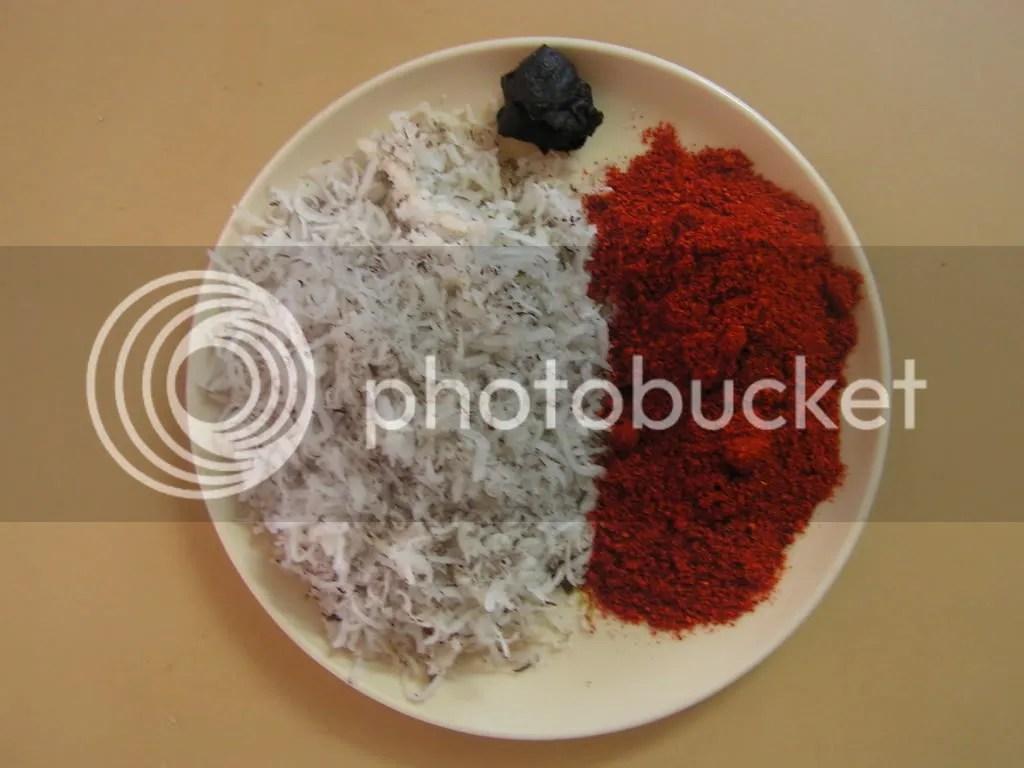 Ingredients of chutney powder