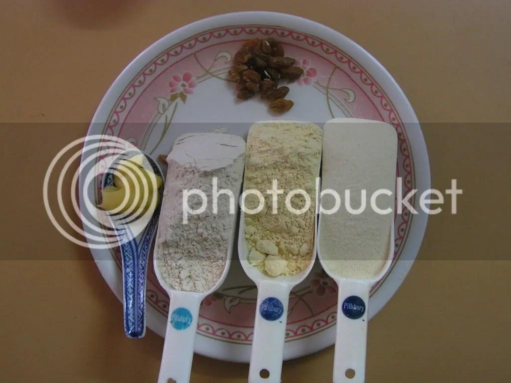 Ingredients of Laddu