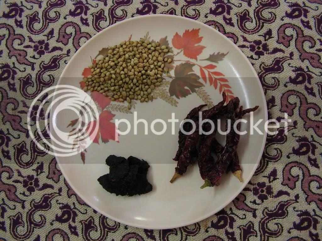 Ingredients of Masala
