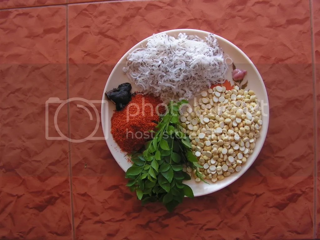 Ingredients of Hurikadle chutney powder