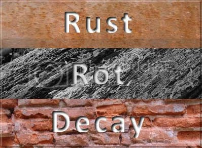 Rust Rot Decay
