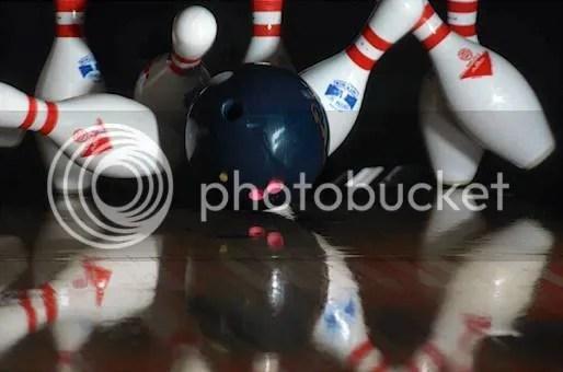 Jim Peet's strike!