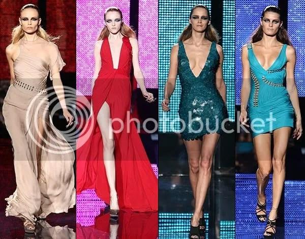 Versace Autumn (Fall)/Winter 2009-1010 runway