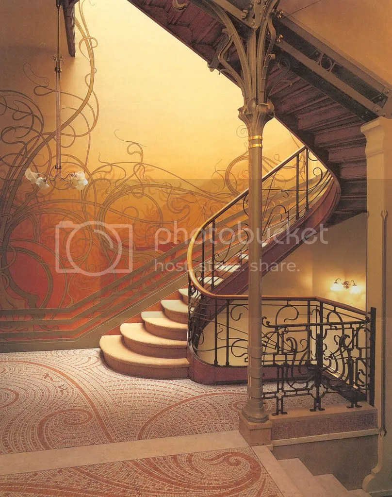 victor horta hotel tassel staircase