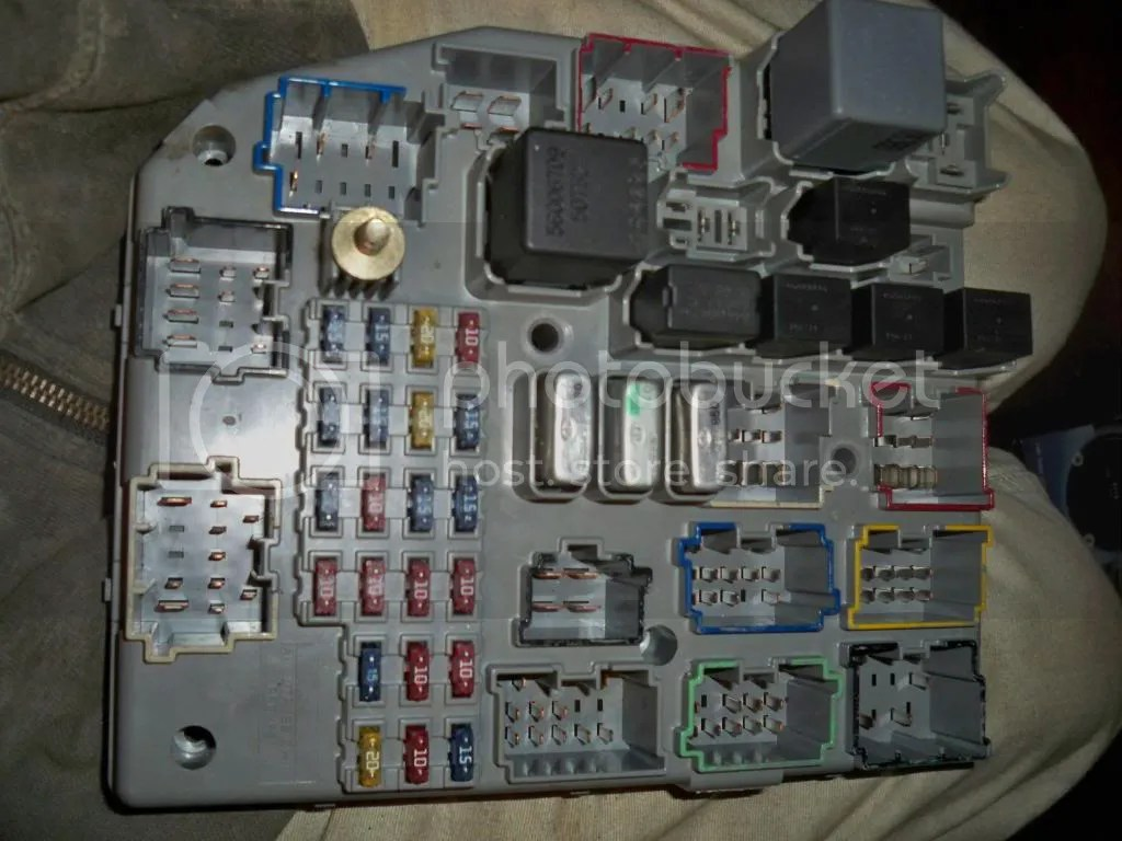 1996 Jeep Grand Cherokee Laredo Fuse Box Diagram