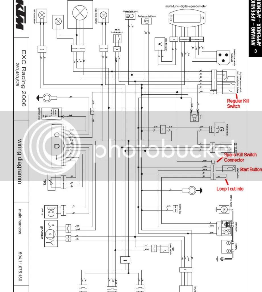 Ktm Exc Wiring Diagram