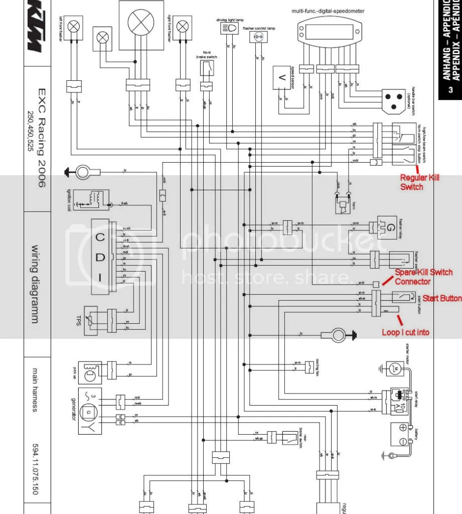 hight resolution of ktm wiring diagrams wiring diagrams scematic 93 ktm stator diagram 1994 ktm wiring diagram