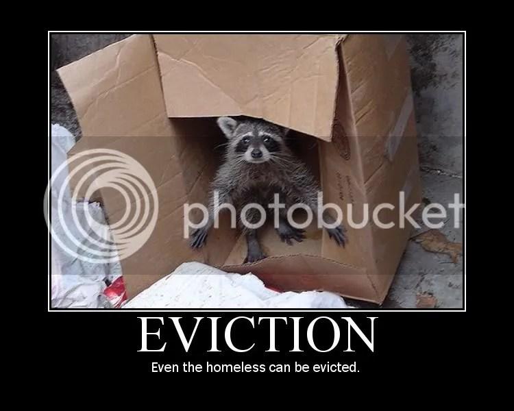 Those poor poor homeless...