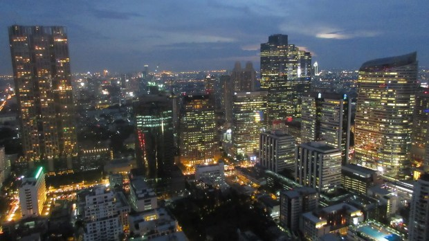 Bangkok Silom Sky Bar Cloud 47