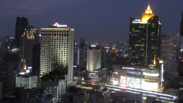 Long Table sky bar Bangkok