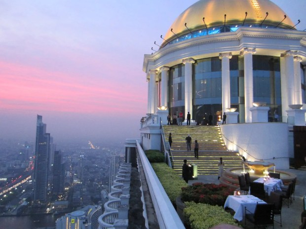 Sirocco Sky Bar State Tower Bangkok