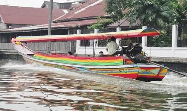 Bangkok canal cruise