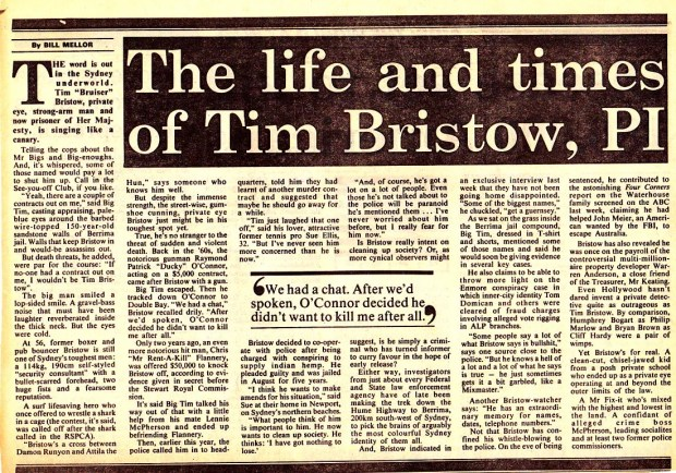 Life of Tim Bristow