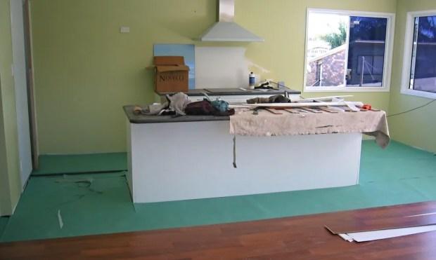 kitchen home extension