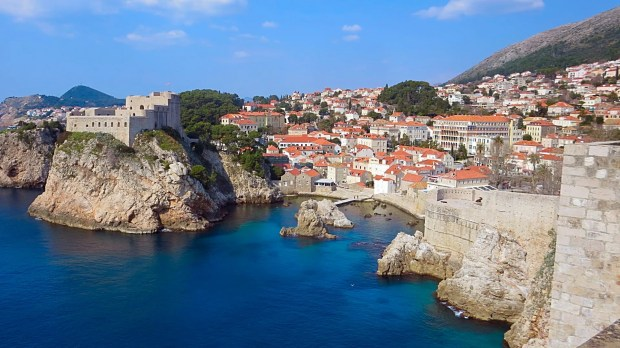 Dubrovnik medieval Croatian city