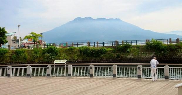 Sakurajima active volcano Kagoshima